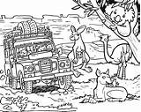 Colouring Australian Printable Australia Coloring Pages Colour Wildlife Animals Safari Clip Clipart Drawing Tour Ayers Rock Children Template sketch template