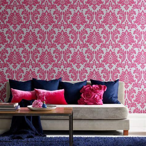 Die Besten 25+ Rosa Tapete Ideen Auf Pinterest Rosa