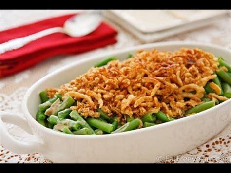 vegan green bean casserole recipe youtube