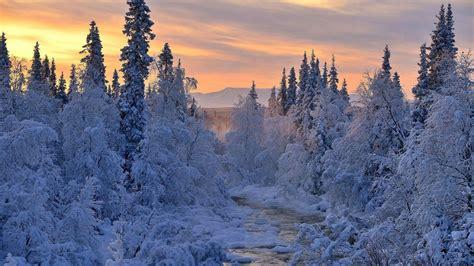 Beautiful Winter Wallpaper Hd by Winter Sunset Hd Wallpaper 50 Images