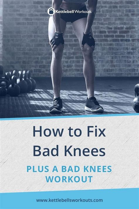kettlebell bad knees workout knee training exercises workouts cardio transformation results deadlift flow body lower circuit vipstuf form ift tt