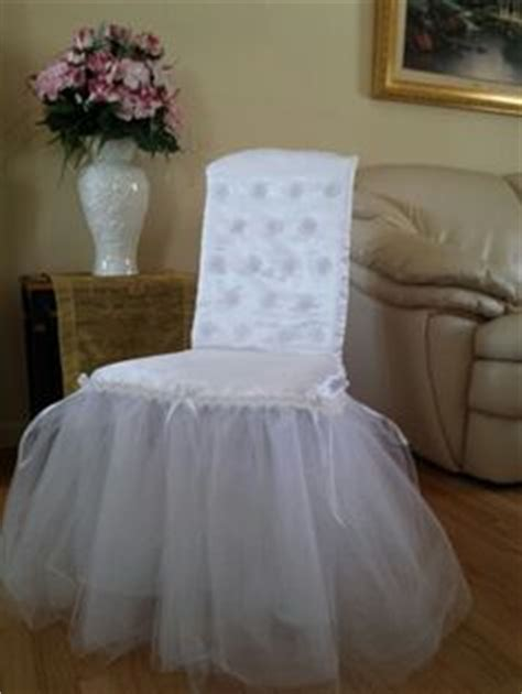 bridal shower chair on chair covers wedding