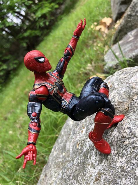 review marvel legends iron spider figure infinity war