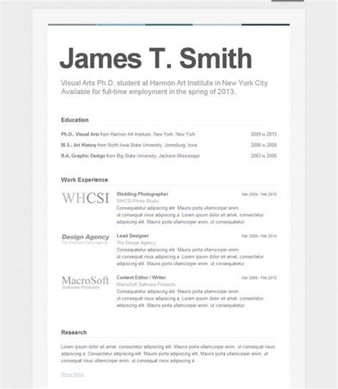 How To Set A Resume Up On brand yourself resume cv portfolio let s it