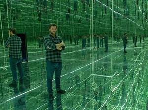 people sharjah art foundation With swing to infinity inside thilo franks mirrored room