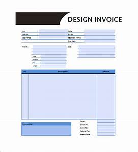 Graphic design invoice templates 8 free word excel for Graphic design invoice template pdf