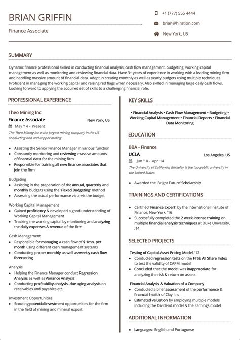 Resume Structure Template by Resume Templates The 2019 Guide To Choosing The Best