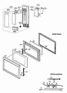 Control Panel  Door Parts  Miscellaneous Diagram  U0026 Parts