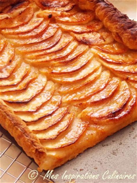 lotte cuisine tarte aux pommes à la pâte feuilletée le cuisine de samar