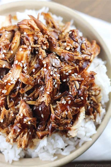 crock pot teriyaki chicken healthy easy