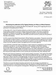 Business Letter Format Uk Fly Tipping In Wales Uk Statistics Authority