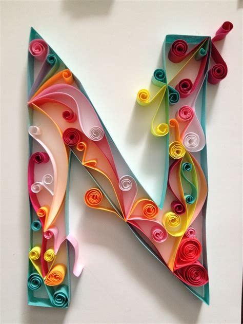 quilling letters  numbers images  pinterest