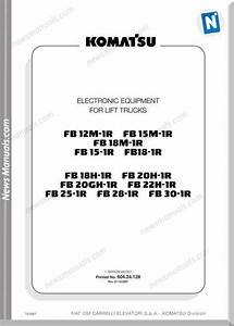 Nissan Forklift Operators Wiring Diagram