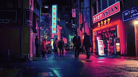 neon lights  japan  ultrahd wallpaper wallpaper
