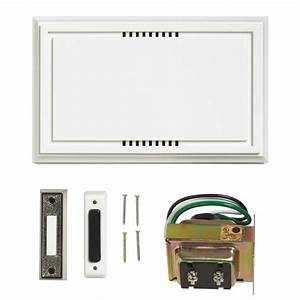 Wired Door Bell Deluxe Contractor Kit-216599
