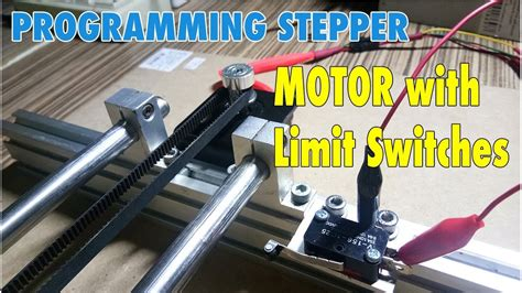 Control Stepper Motor With Limit Switches Arduino