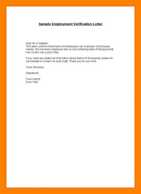 letter  employment verification  apartment