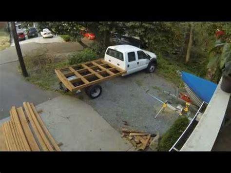 wood truck bed wood truck bed ford f 450 diy fyi Diy