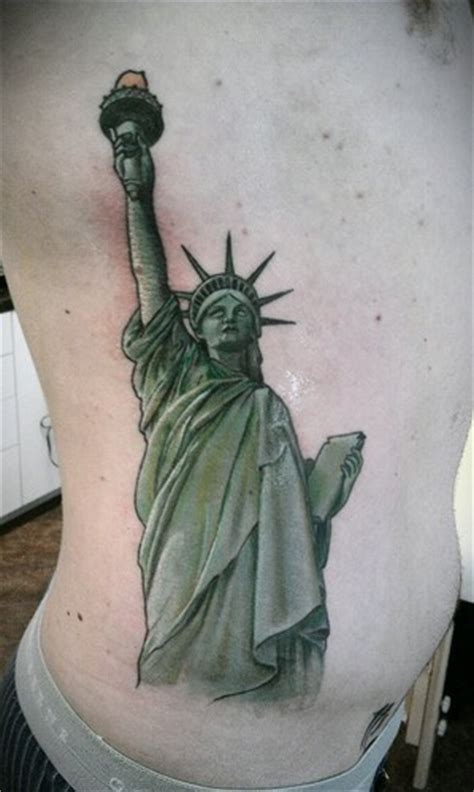 statue  liberty tattoos designs ideas  meaning