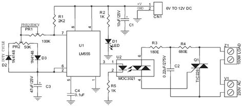 220v Schematic Wiring Diagram by 220v 200w L Flasher Circuit Schematic And Pcb Layout