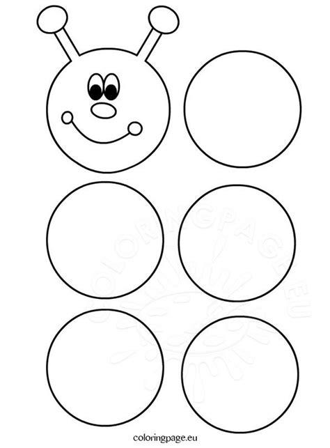 printable caterpillar template toddler learning