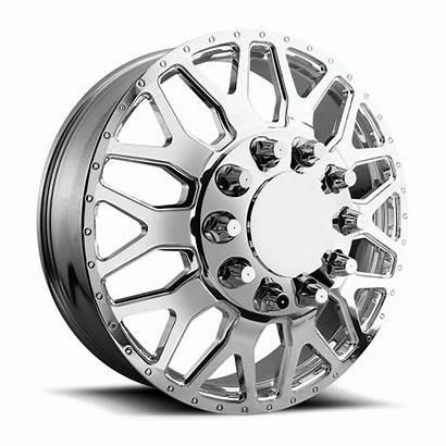 Dually Wheels Fuel Inch 28 Lug Polished