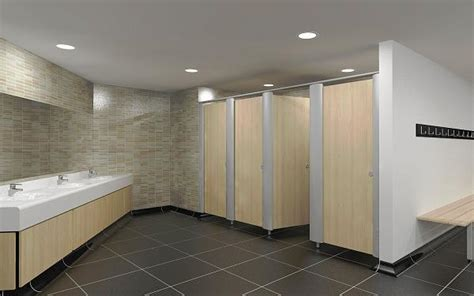 metal framed toilet cubicle systems moisture resistant