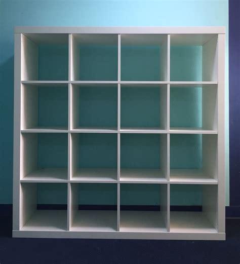 ikea bookshelf expedit ikea expedit bookcase white 4x4 in hackney