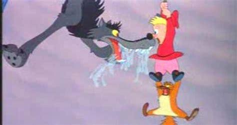 walt disney peter   wolf  cartoon part