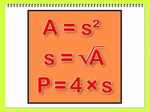 Streckenlänge Berechnen : berechnung des umfangs eines quadrates wikihow ~ Themetempest.com Abrechnung
