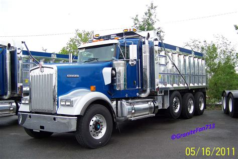 w900 kenworth truck kenworth w900 dump trucks