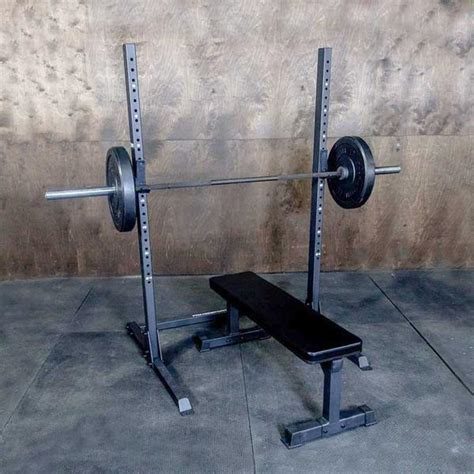 commercial squat rack  weightlifting  onefitwonder