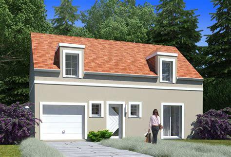 Plan Maison Individuelle 4 Chambres 109  Habitat Concept
