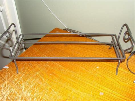 pampered chef simple additions rectangle  metal rack  ebay
