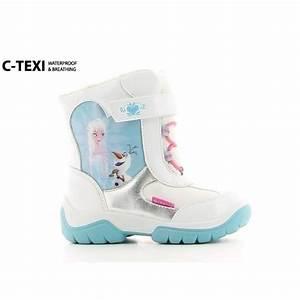 Botte Neige Bebe : frozen la reine des neiges bottes de neige chaussures enfant fille blanc argent et bleu ~ Teatrodelosmanantiales.com Idées de Décoration