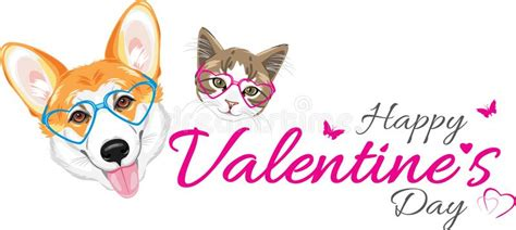 Happy Valentine's Day Cute Cat