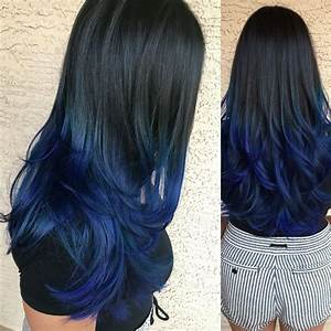 black to blue ombre | Hair Tips & Hair Care | Pinterest ...