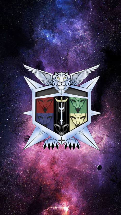 voltron iphone legendary background phone galaxy crest nerdy retina defenders backgrounds lions wallpapers ships form desktop