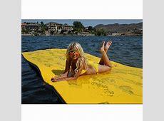 Generic Floating Bed Water Hammock Lounge Island Raft Mat