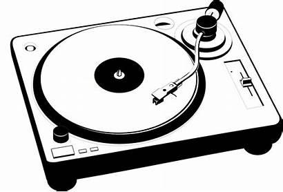 Turntable Retro Clipart Vinyl Clip Dj Record