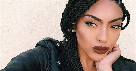 Black Braided Hairstyles With Extensions