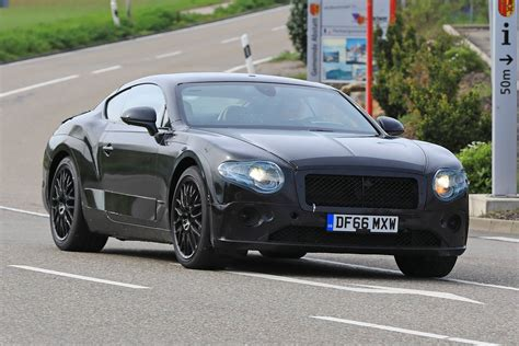 bentley continental next gen bentley continental gt latest spyshots less camo