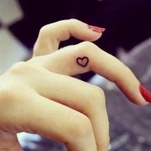 Finger Tattoo Herz : tatuajes discretos y elegantes de los que te enamorar s belagoria la web de los tatuajes ~ Frokenaadalensverden.com Haus und Dekorationen