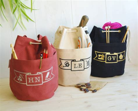 personalised craft project ditty bag  sproglets kits notonthehighstreetcom