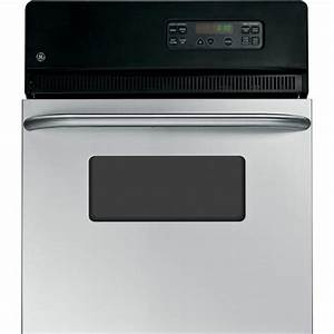 Ge 24 In  Single Electric Wall Oven Self
