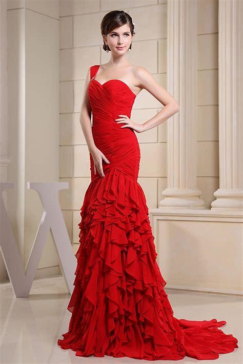 Mermaid Sweetheart Floor-length Chiffon Evening Dress With ...