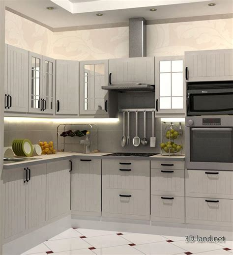 cuisines ikea 3d faktum 3d model free 3d land