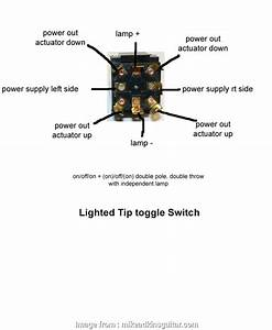 Two Position Toggle Switch Wiring Simple 3 Wire Spdt