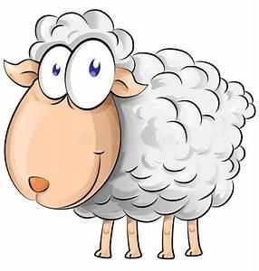 Sheep cartoon stock vector. Illustration of clipart ...