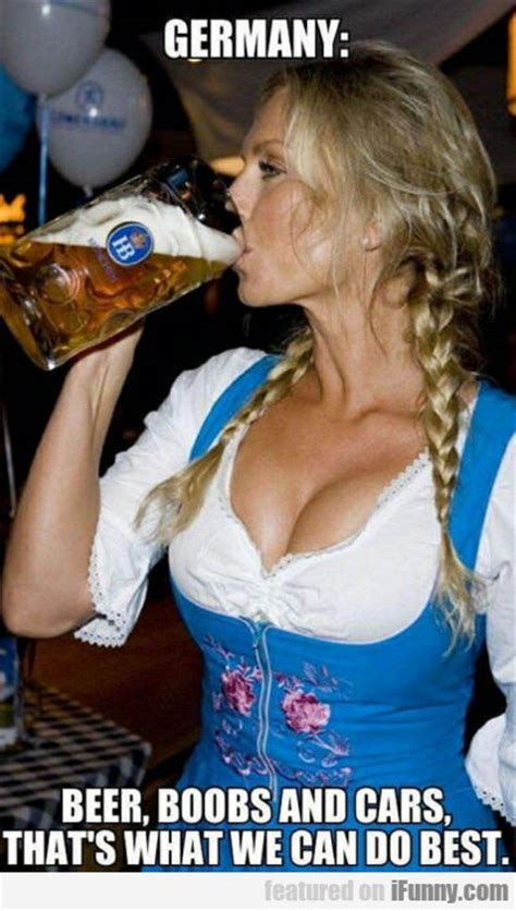 germany beer boobs and cars